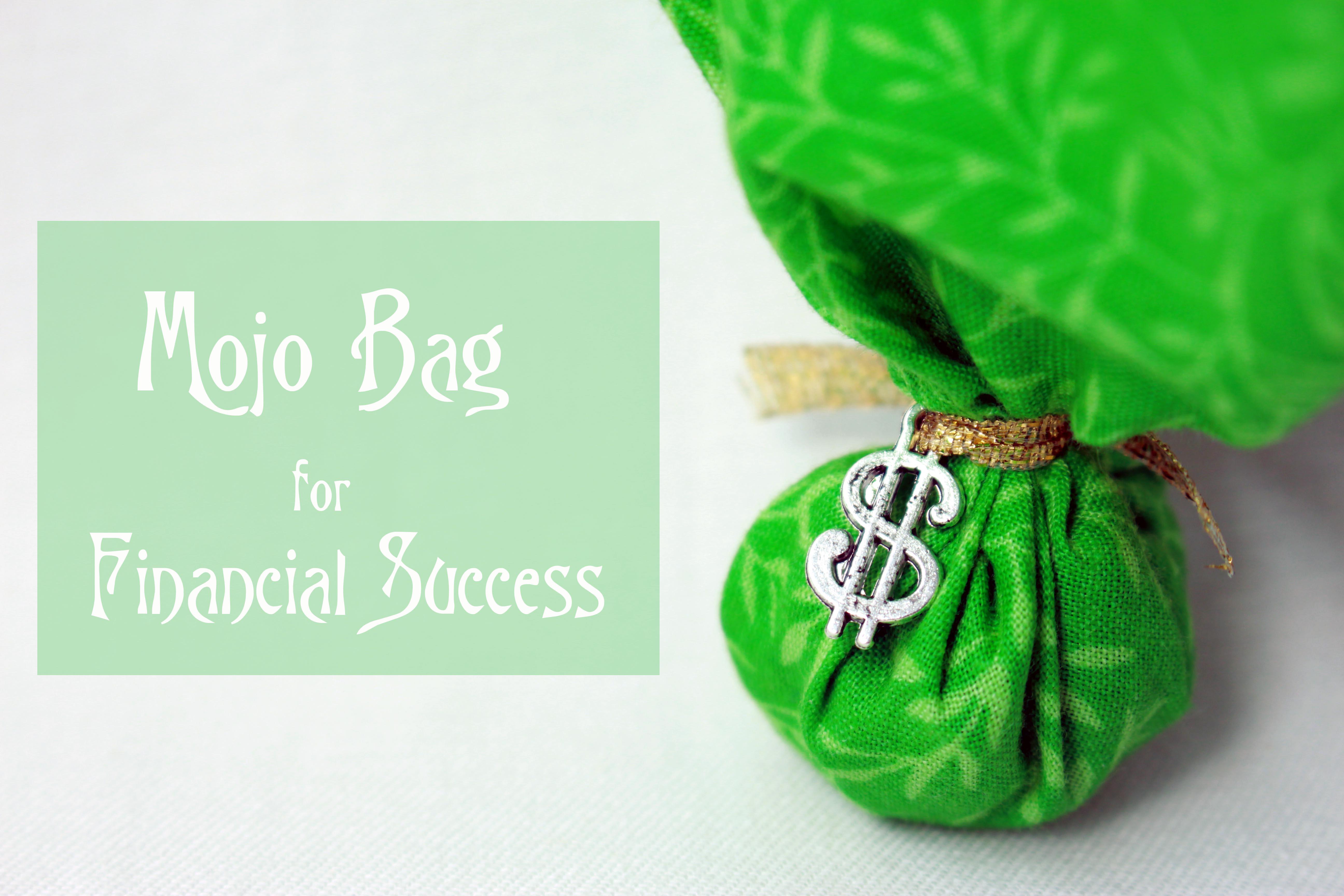 mojo bag for financial success