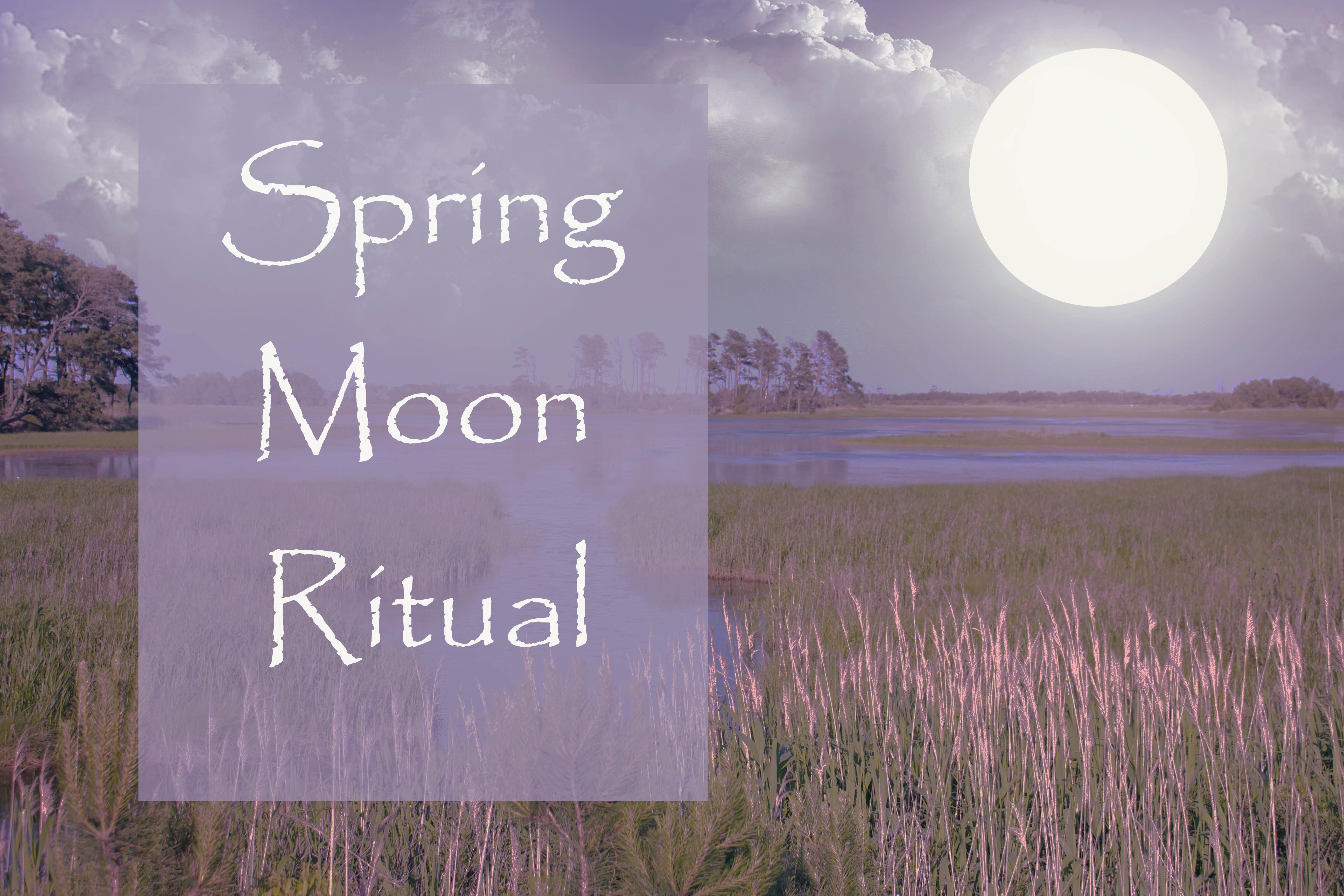 Spring Moon Ritual Pinterest