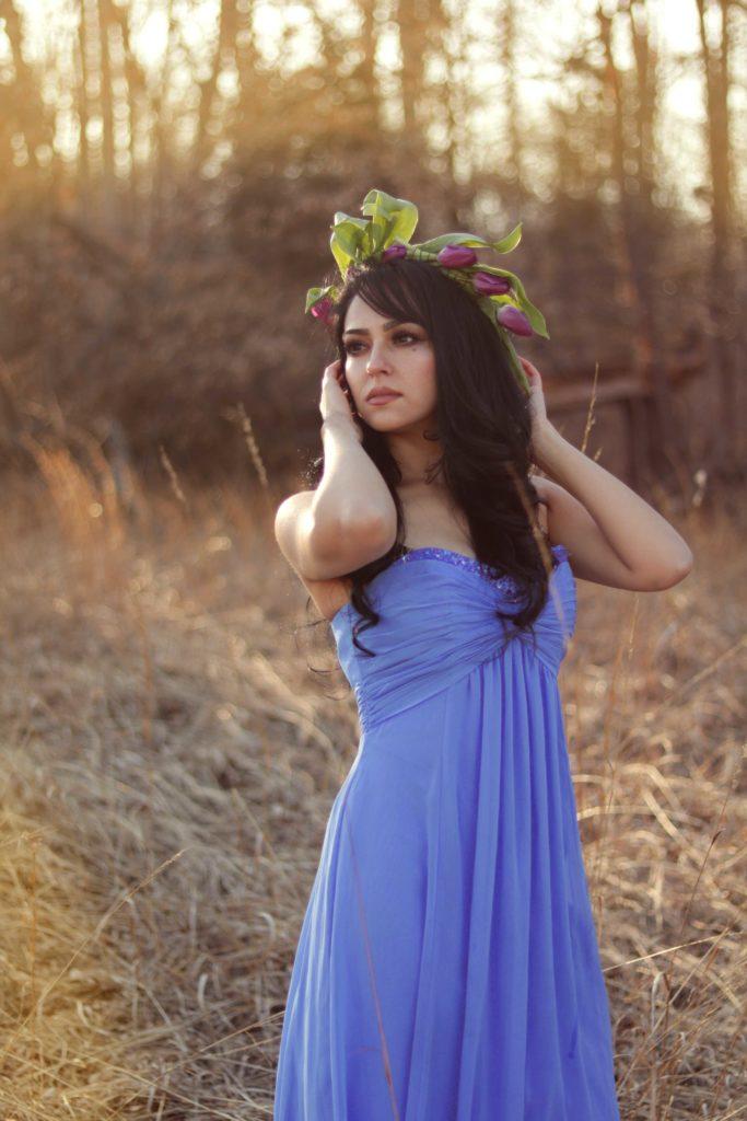 Make flower crowns for Beltane!