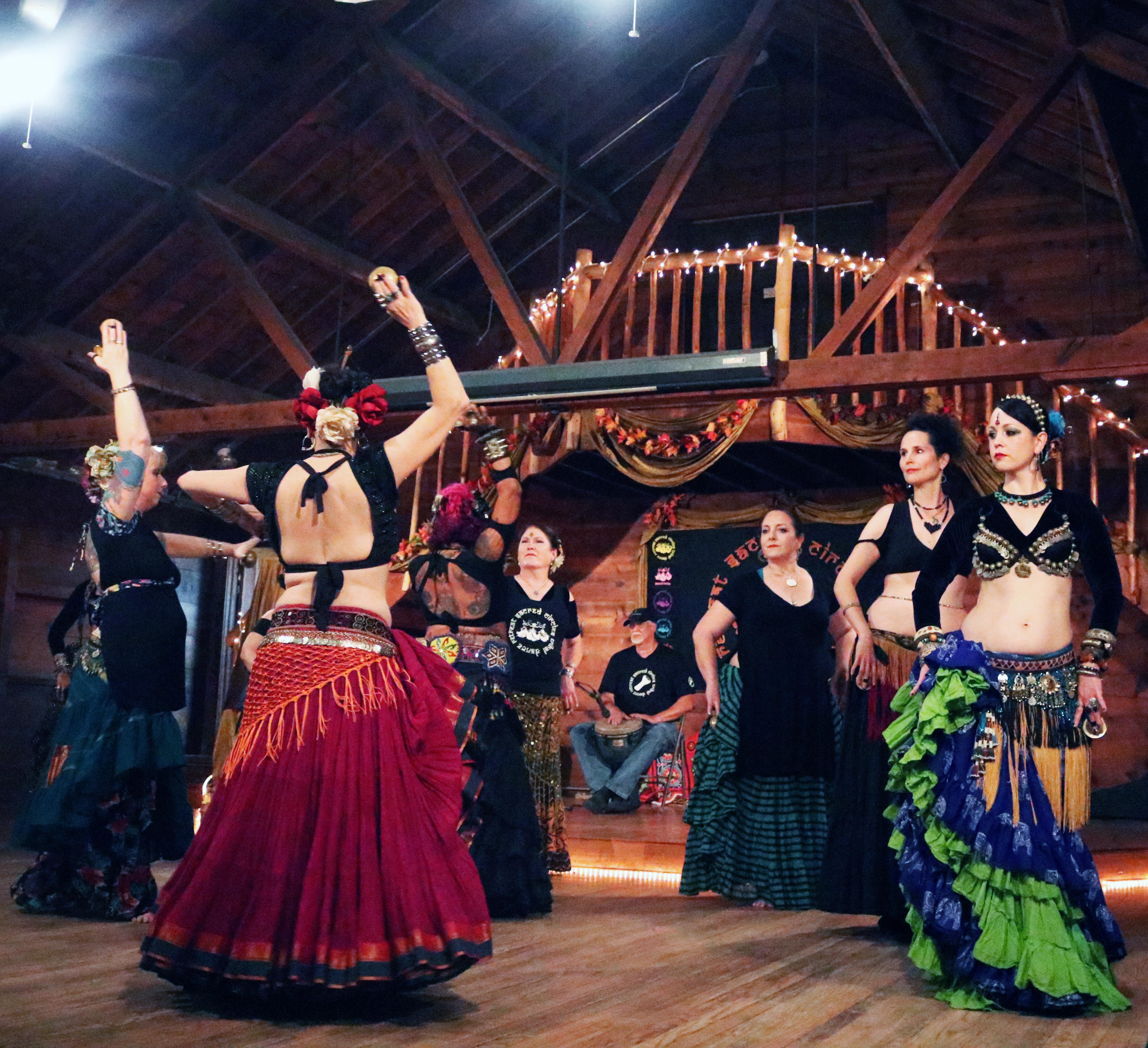 tribal dancers