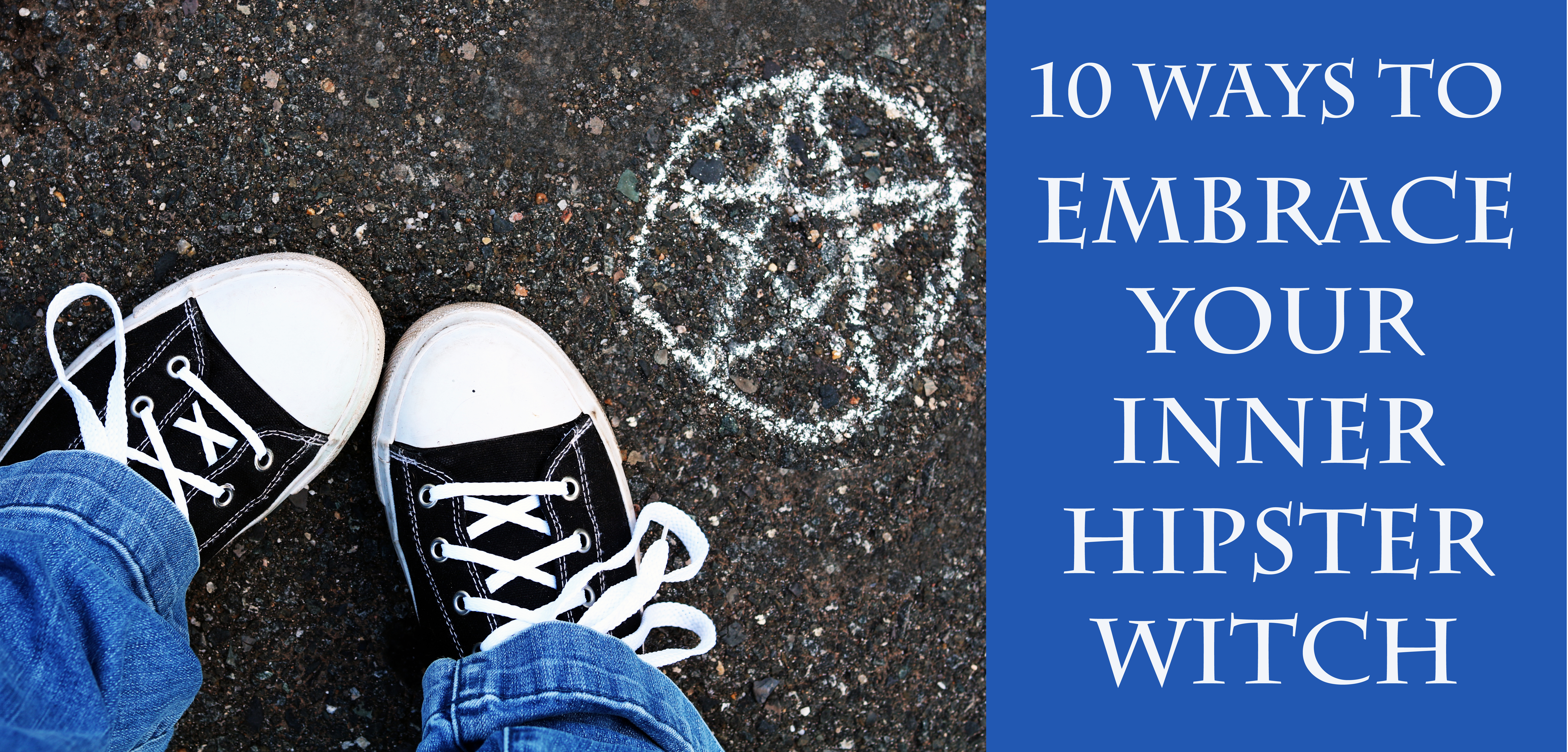10 ways to embrace your inner hipster witch