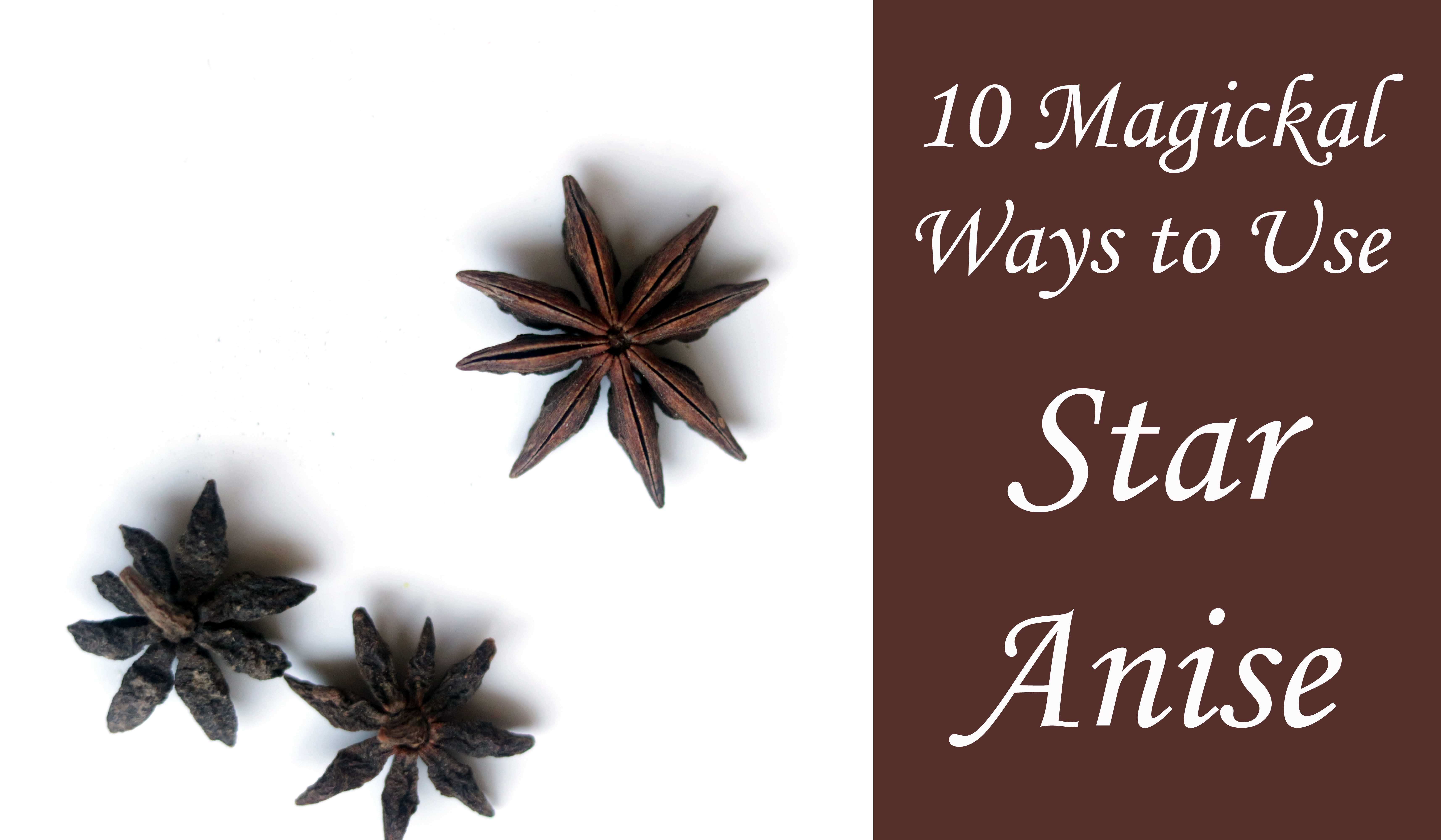 10 Magickal Ways to Use Star Anise in Witchcraft
