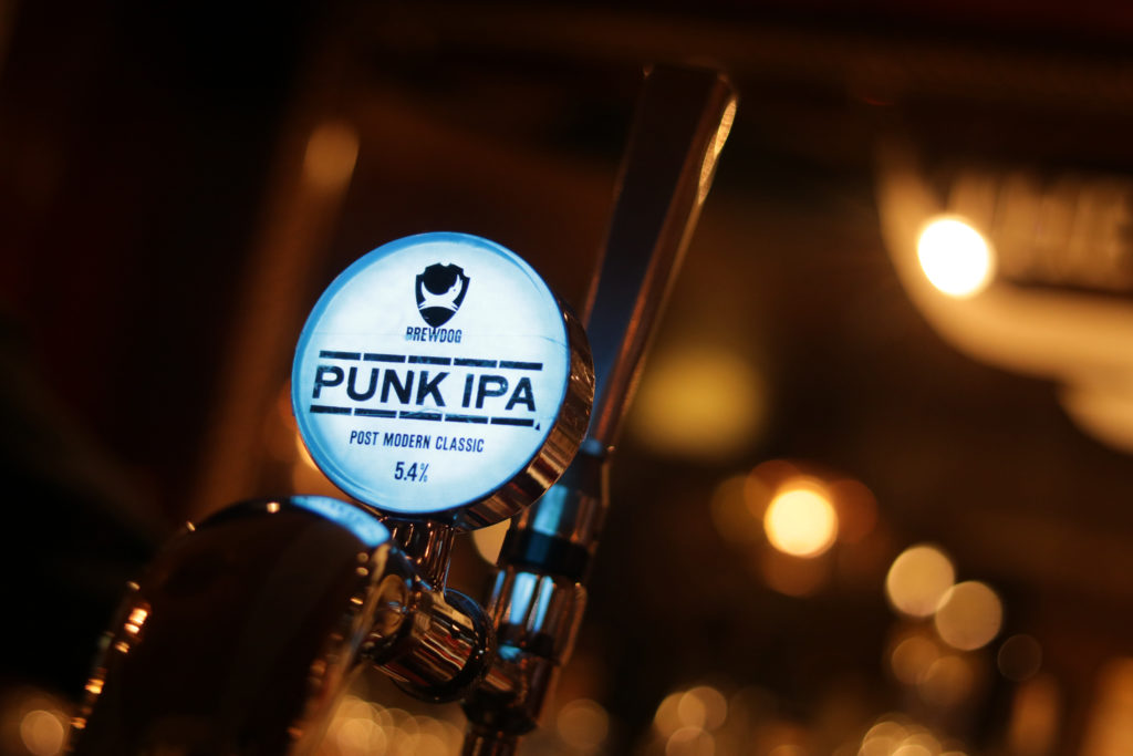 Punk IPA Scottish Beer