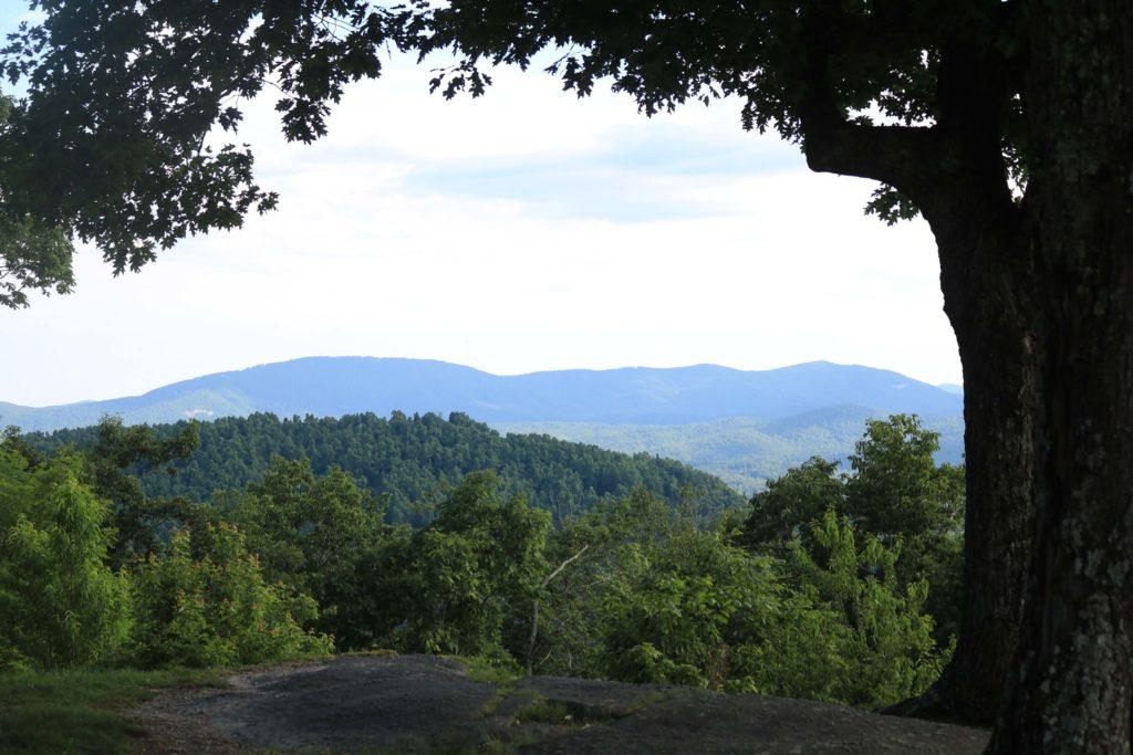 Jump Off Rock in North Carolina