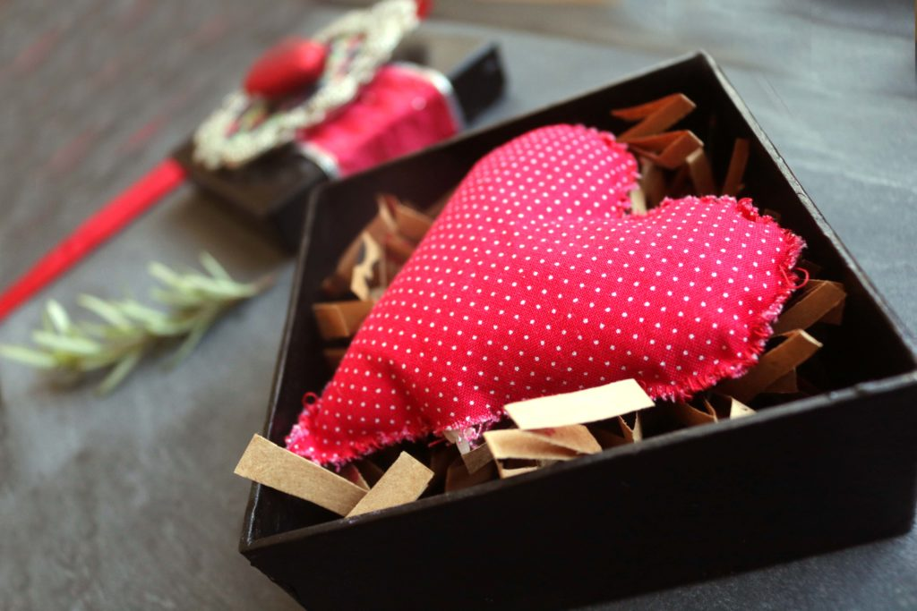 Heat activated love spell sachets.