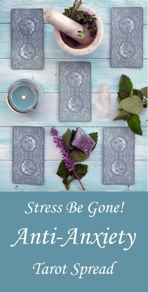 Get to the root cause of your anxiety with this stress reducing tarot spread.