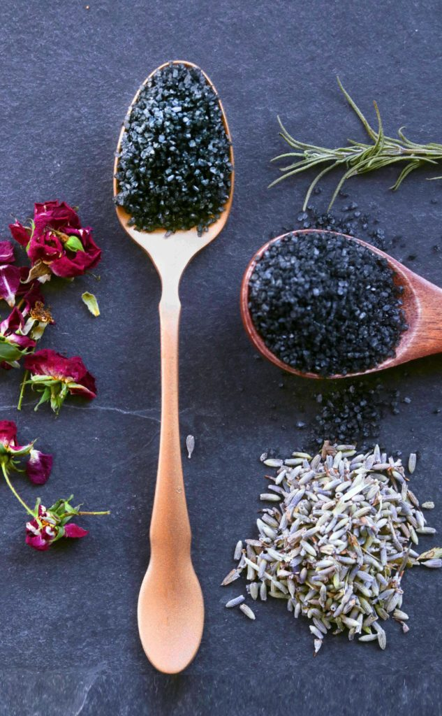 How to use and make witch's black salt.