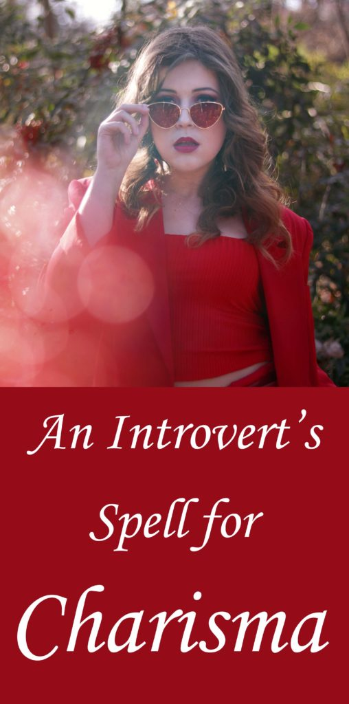 An introvert witch's spell for charisma.
