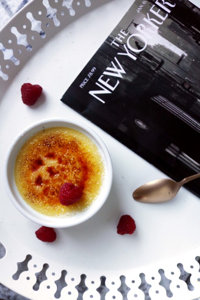 White magic creme brulee is a perfect for the Imbolg season!