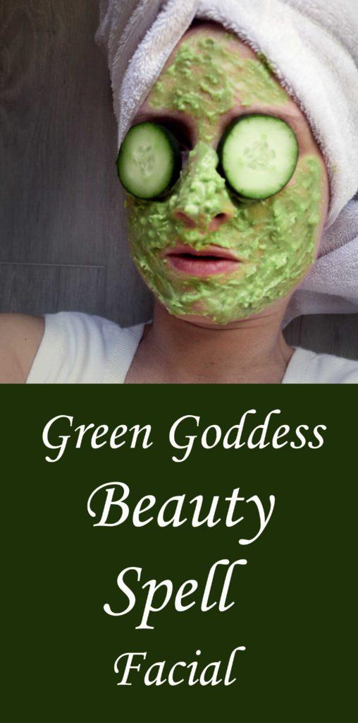 Green Goddess Glamour Spell Facial for Natural Beauty