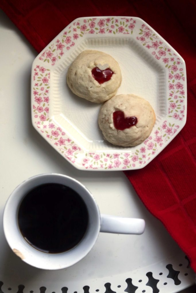 Heart of the witch love spell cookies. What a fun Valentine's Day craft!