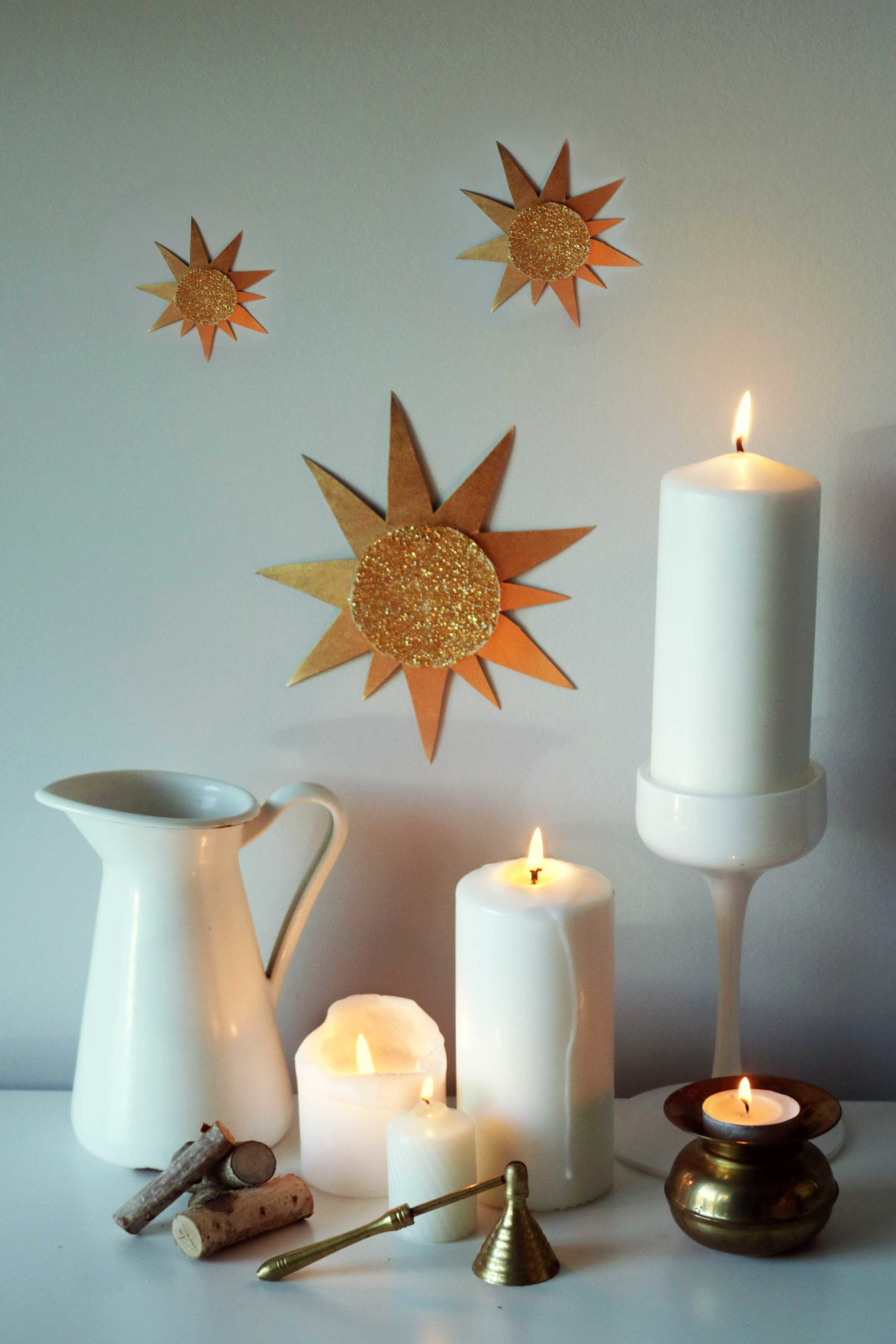 How to create and set up a gorgeous Imbolc altar.