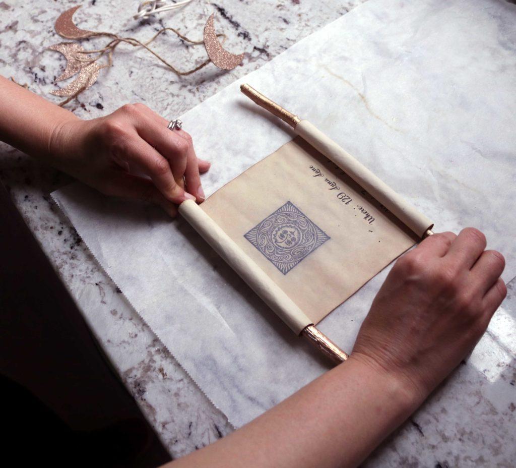 How to make moon scrolls.