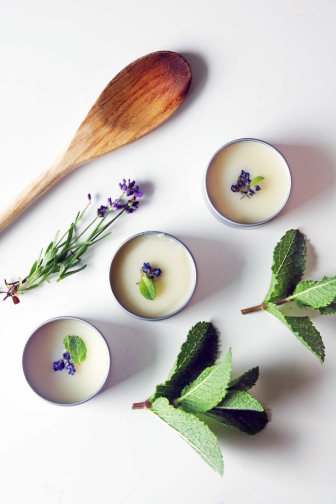 DIY lavender and mint dream salve. An easy, sweet-smelling way to experiment with lucid dreams, astral projection and deep sleep visions.