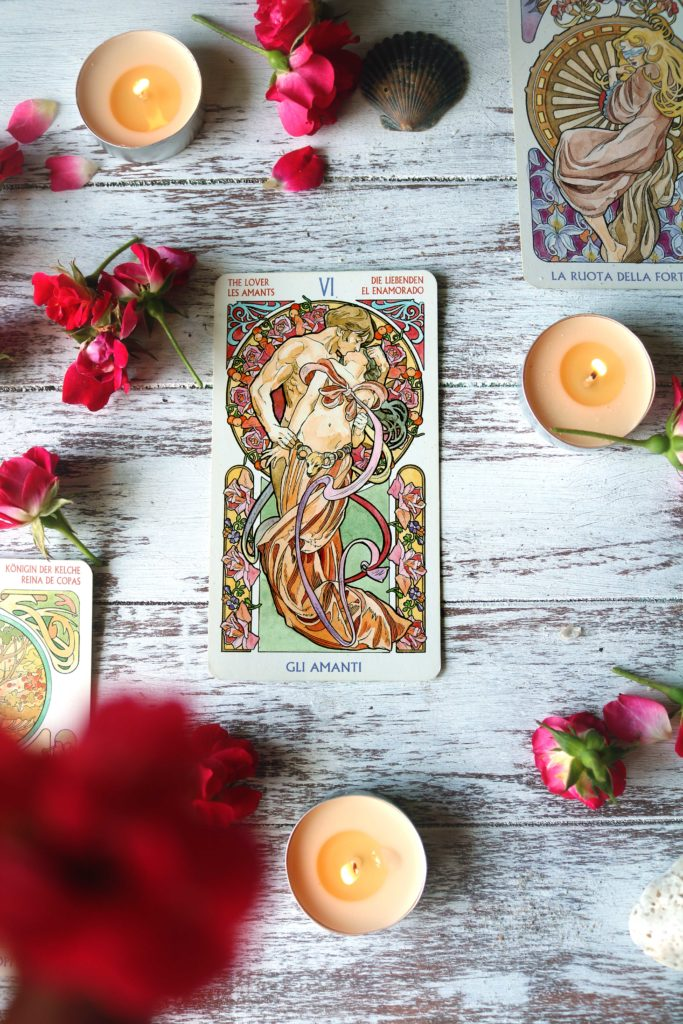 Aphrodite love and attraction tarot spell.