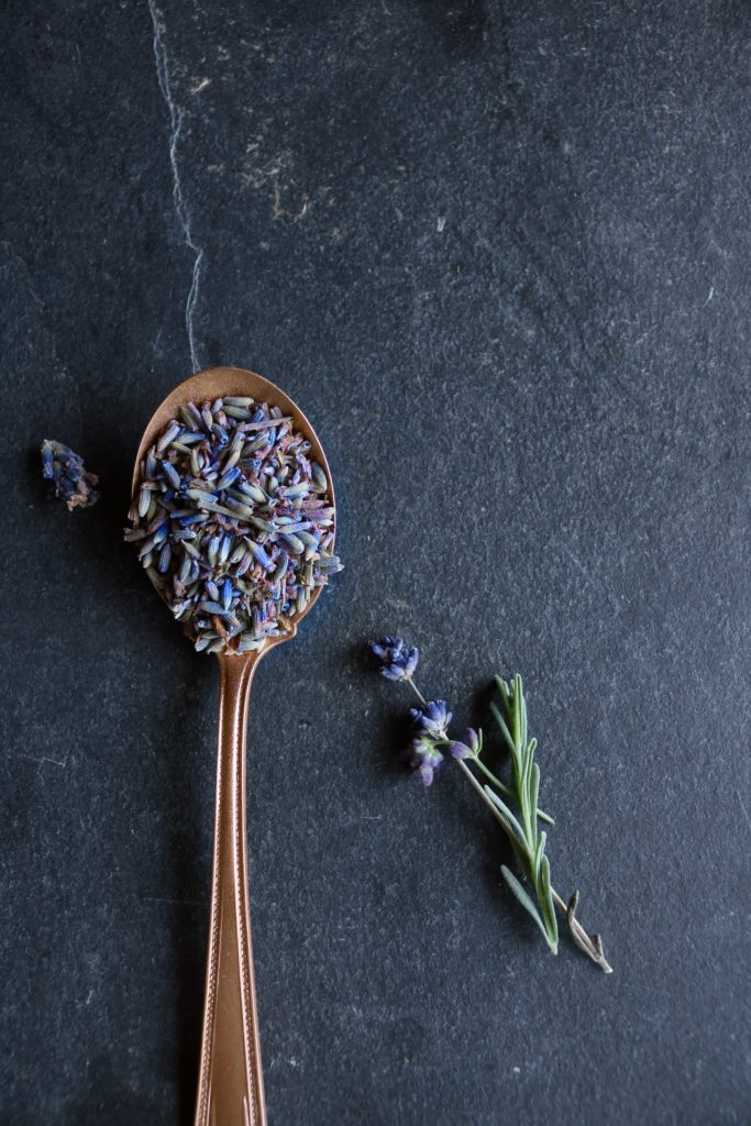 Dried lavender is a beautiful addition to any witchy cupboard.