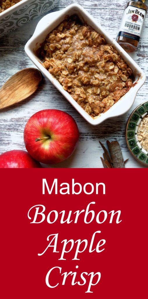 Mabon Bourbon Apple Crisp Recipe Moody Moons
