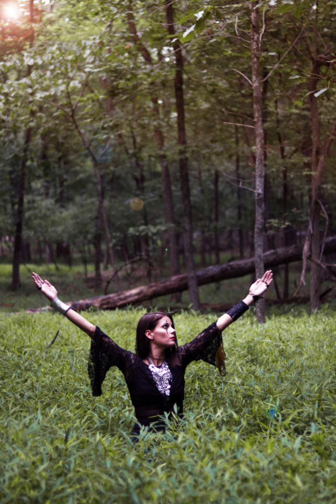 Witch of the Woodlands:  Ideas for Discovering the Enchantment of the Forest