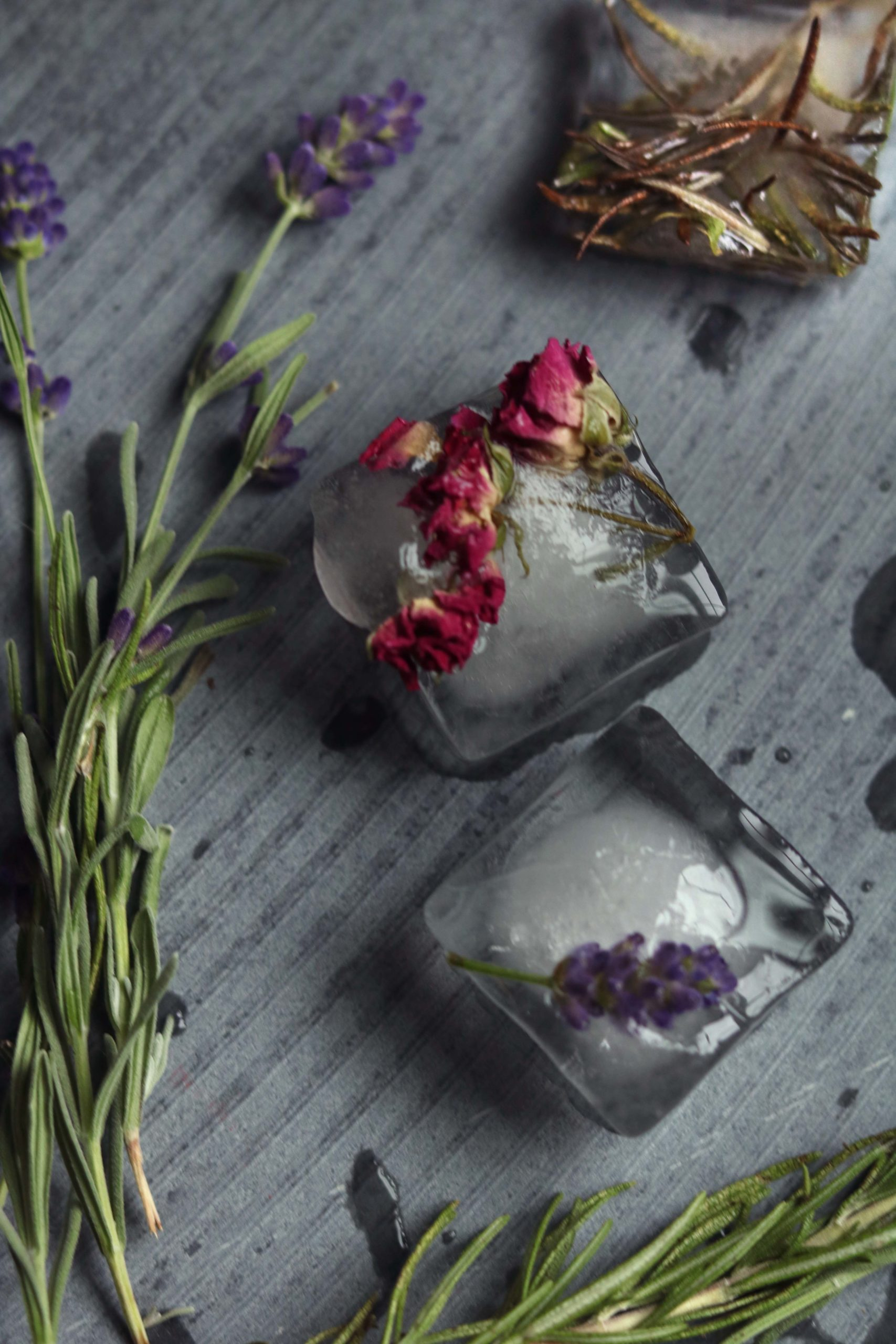 Moon water ice is a lovely, simple diy witchy craft project to celebrate the full moon.