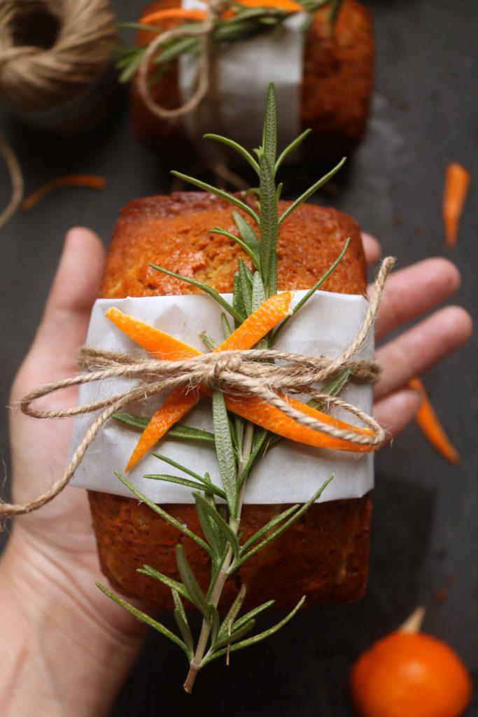 Ginger & Orange Zest Spice Cakes for the Winter Solstice