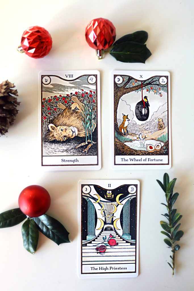 The Elemental Power Tarot by Melinda Lee Holm