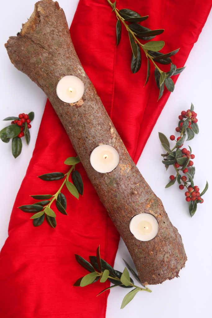 How to Make An Elegant Yule Log for Your Winter Solstice Table