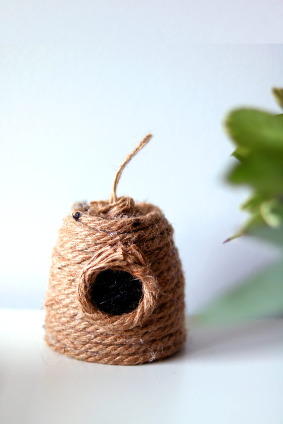 Skep beehive DIY and other crafts for the Summer Solstice.