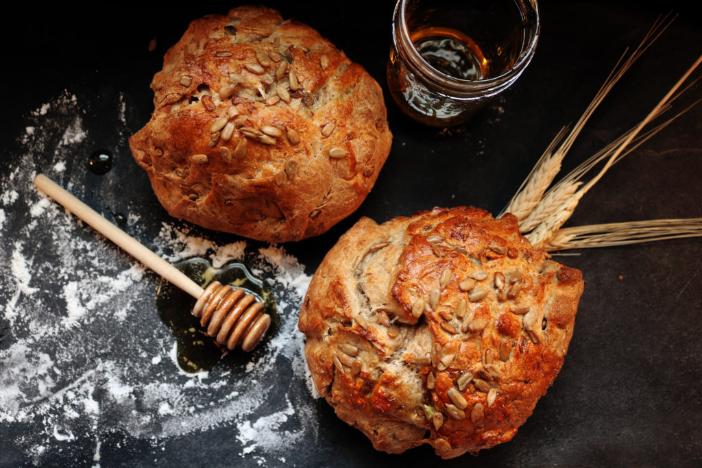Celebrate the Wheel of the Year with Rustic Sun Bread for Lammas.