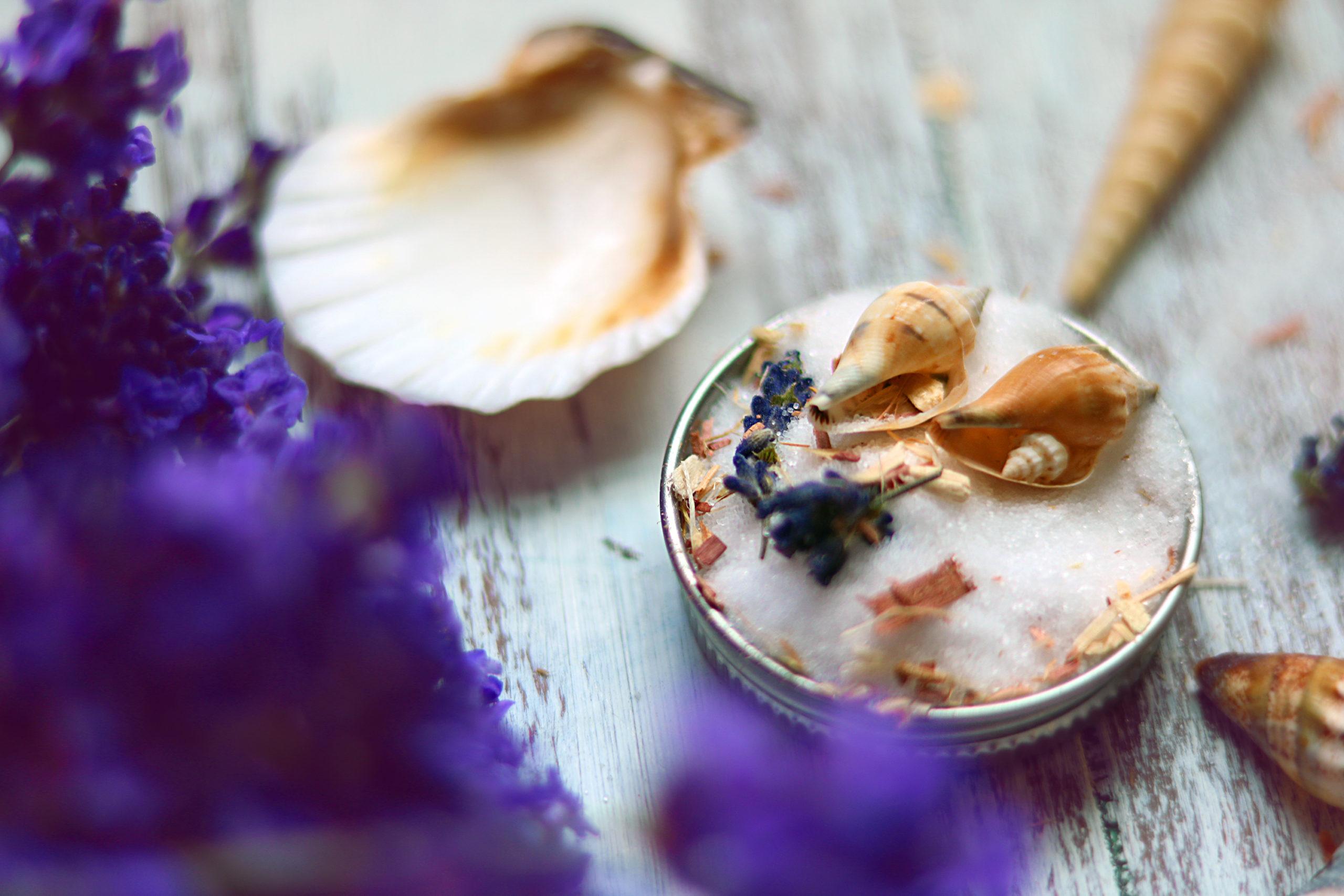 A recipe for lunar ritual moon salts.