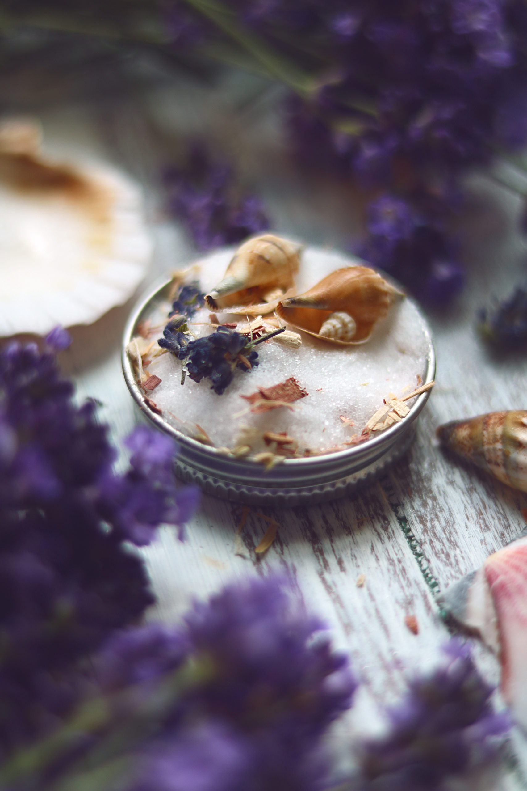 Use homemade moon salts in your next lunar ritual, moon circle or to promote a magical dream life.