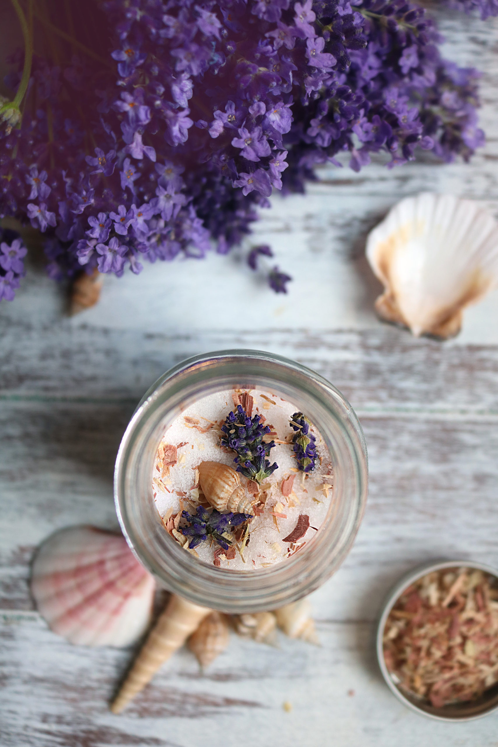 Get witch-crafty this full moon with a batch lunar salts.