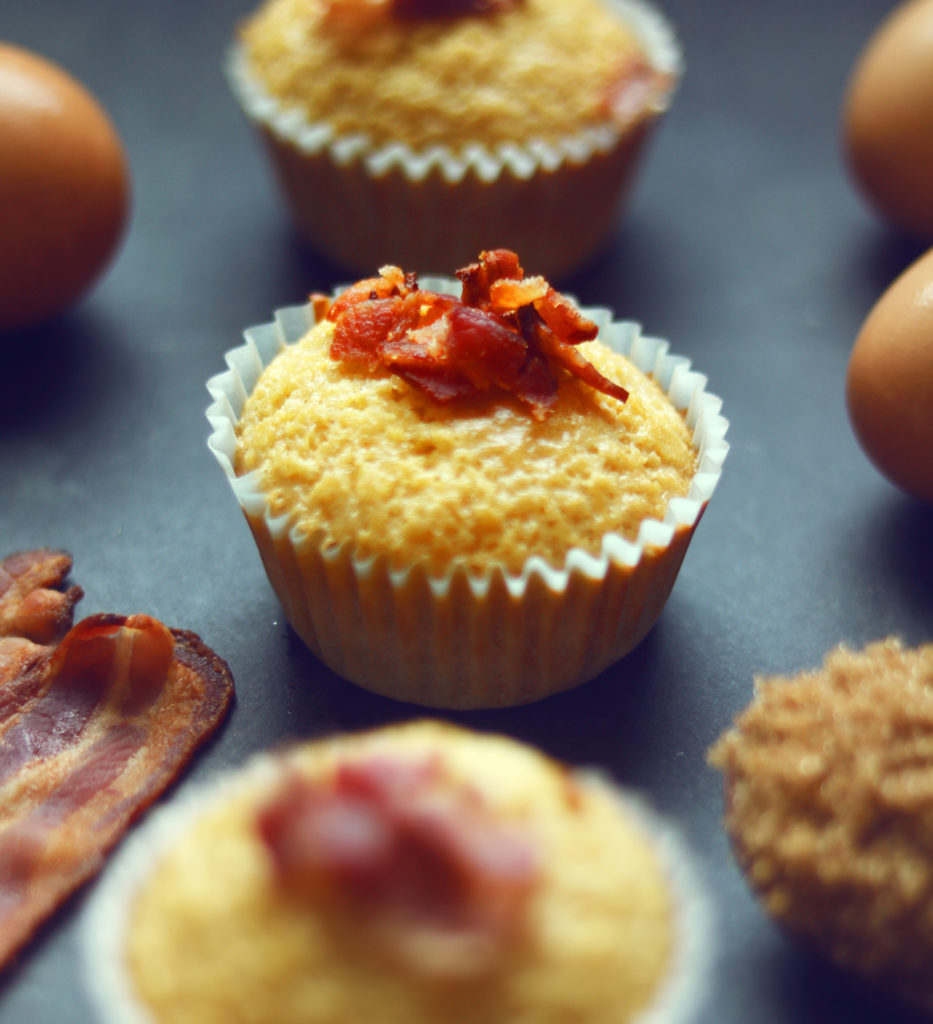 Bacon maple cornbread muffins are a cute and creative way to celebrate the Fall Equinox!